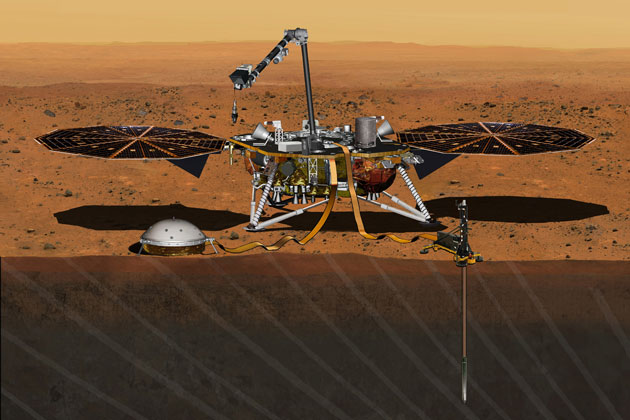 People have until Sept. 8 to add their names to a silicon microchip headed to the Red Planet aboard NASA's InSight Mars lander, set to launch in 2016.