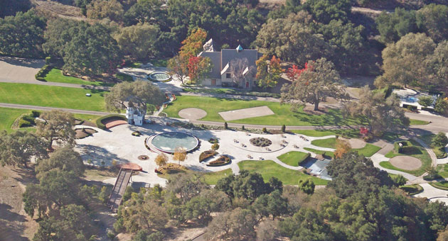 Could your fairy tale come true at Neverland Ranch? (Channel Islands Helicopters photo)