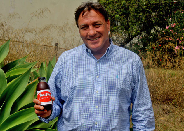 <p>Michael Arnold of Santa Barbara is in the process of launching the Boston Iced Tea Co., a line of organic beverages.</p>