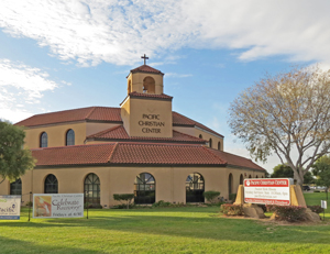 Pacific Christian Center has been located on 12-plus acres at 3435 Santa Maria Way since its last move in 1989. (Gina Potthoff / Noozhawk photo)