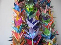 FCCSB received a flock of cranes after the Isla Vista Shooting in 2014.
