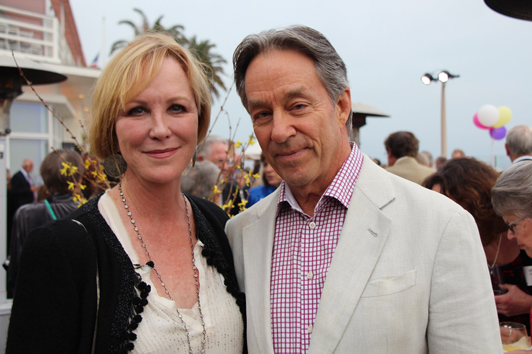 Actress Joanna Kerns and with husband Marc Appleton.
