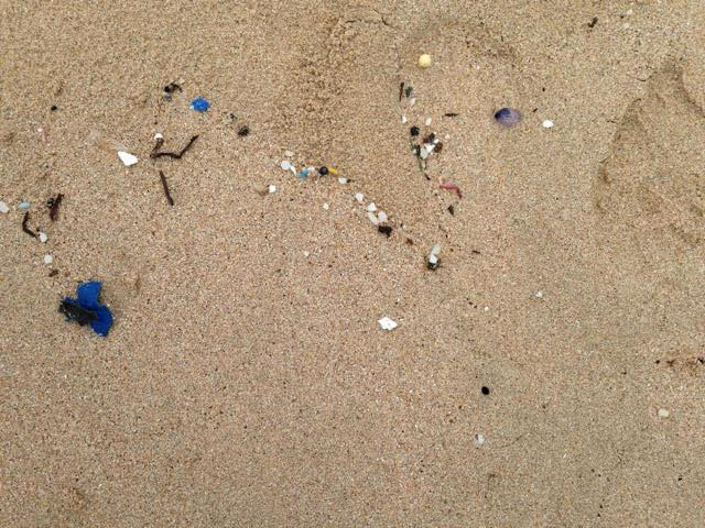 Even the remote island of Rapa Nui cannot be left untouched by stray pieces of the Pacific Ocean's garbage patches.