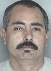 Ronald Anthony Beltran is staying in the loop at the Santa Barbara County Jail. (Santa Barbara Police Department photo)