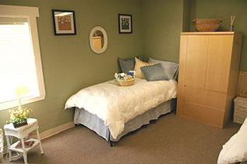 Lompoc's new Recovery Way Home features comfortable rooms with an inviting ambience.