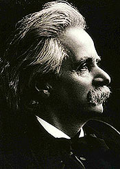 Edvard Grieg liked to keep his music clean and simple.