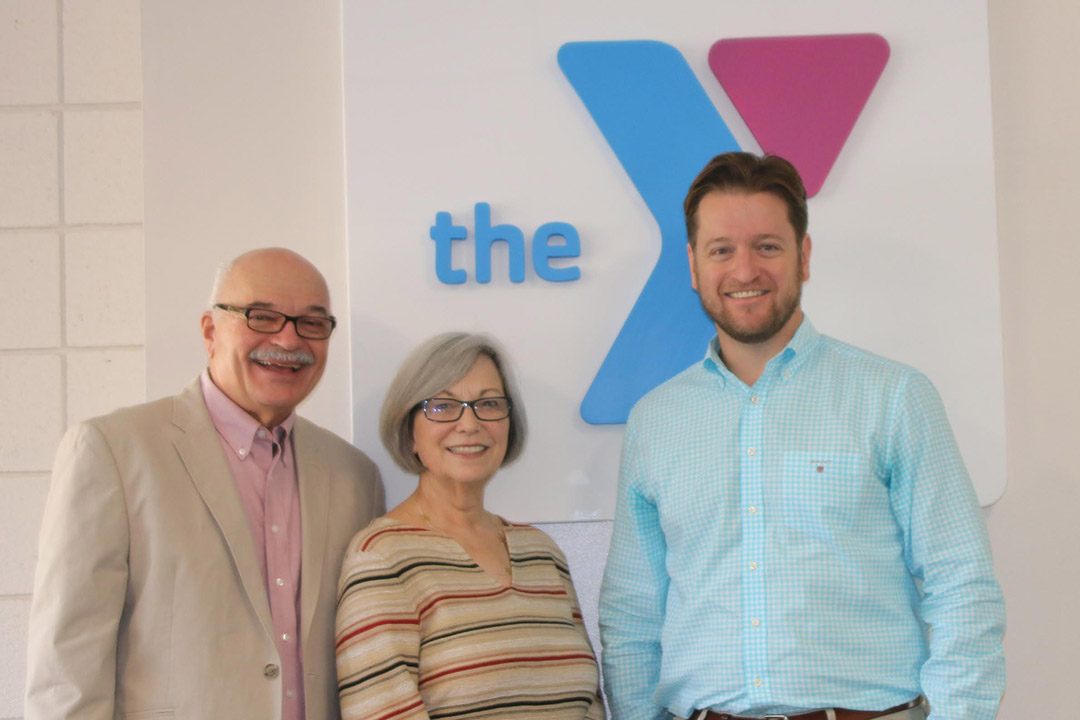 Leading the charge for the Santa Barbara Family YMCA's annual campaign are, from left, co-chairs Tom and Beth Schmid and chair Matt Rowe.