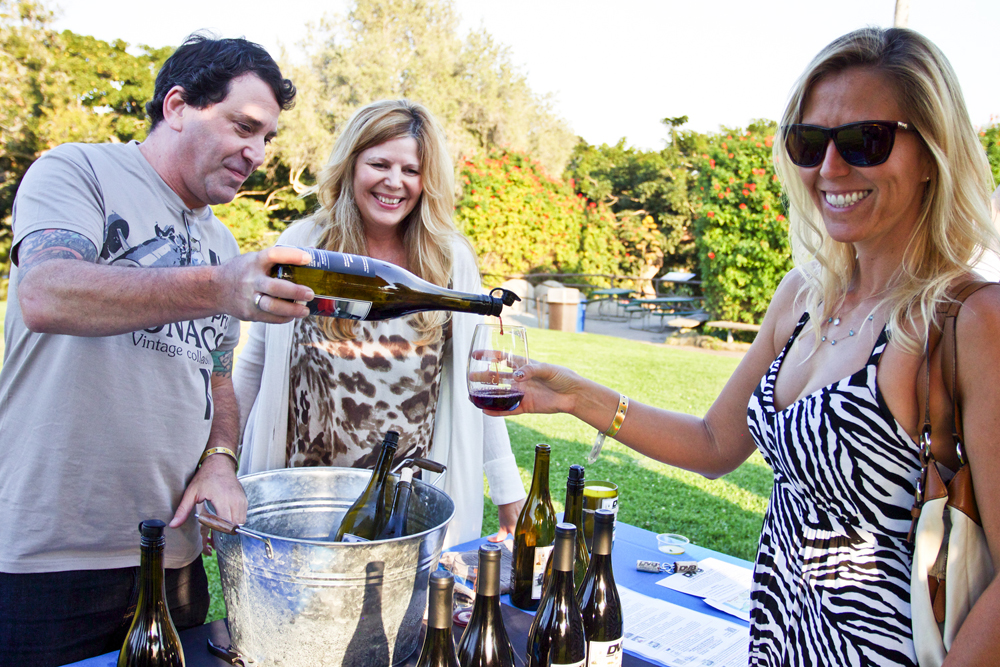Shake up happy hour with wine in hand at the Santa Barbara Zoo's Sunset Sips event July 20.