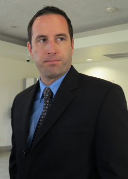 Former Santa Barbara police officer Brian Kenneth Sawicki was sentenced Friday to 10 days in jail, and was ordered to pay a $2,000 fine and serve three years probation. (Gina Potthoff / Noozhawk file photo)