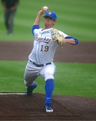 Shane Bieber posted a record of 11-3 with a 2.96 ERA this season for the Gauchos.