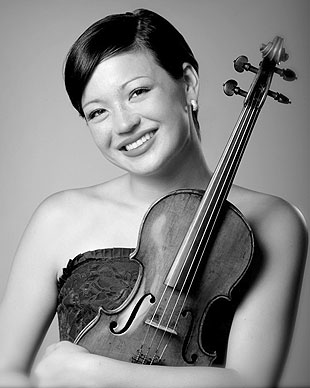 Serena McKinney, the Santa Barbara Symphony's assistant concertmaster, made her solo debut at age 12, and her repertoire includes solo, chamber and orchestral engagements.