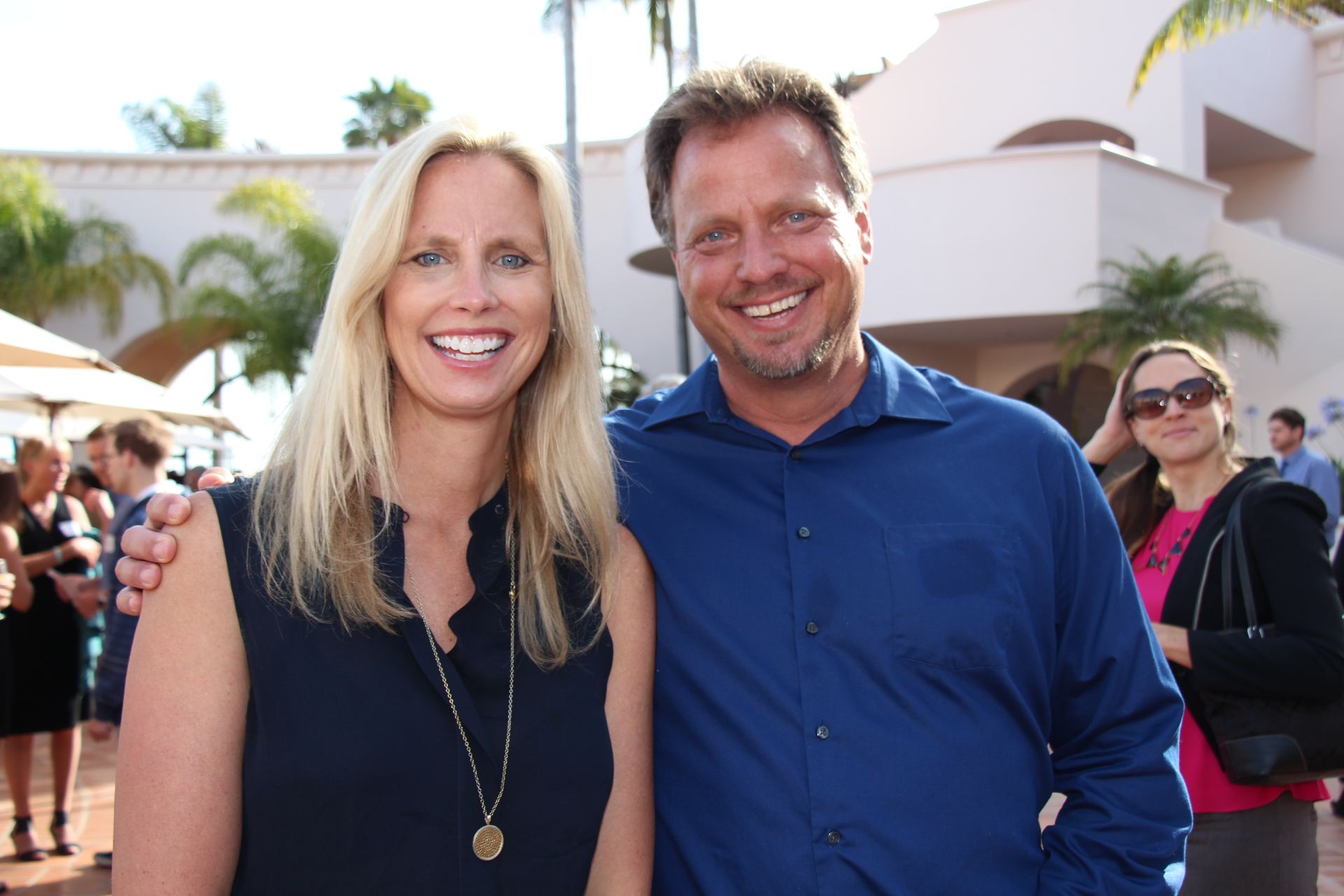 Laura Capps, Mission Partners founder with brother Todd Capps, Creative Democracy Project executive director.