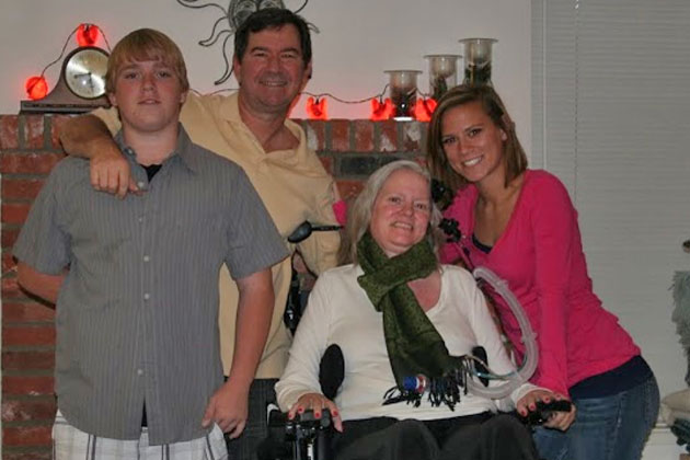 The late Heidi Good Swiacki with her family, husband Stephen, daughter Ashton and son Christopher. Prosecutors believe she was murdered, but one of the women they suspect is quite a surprise. (HeidiGoodTimes blog photo)