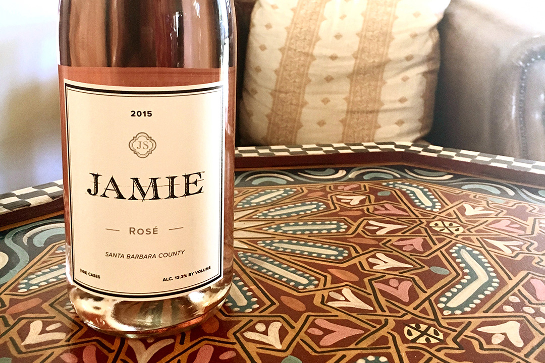 Jamie Slone Wines is one the Wine Collection of El Paseo's smallest boutique wineries, producing approximately 800 cases per year. This strawberry-tinged rosé is sure to go fast!