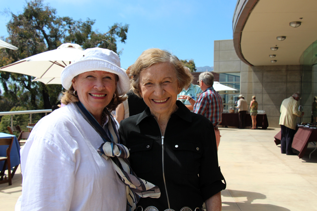 Bonnie Carroll, left, and Lorraine Wilson.