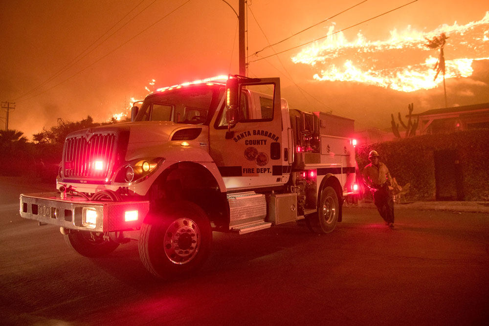 Santa Ana winds threaten more fire, wind damage in San Diego County