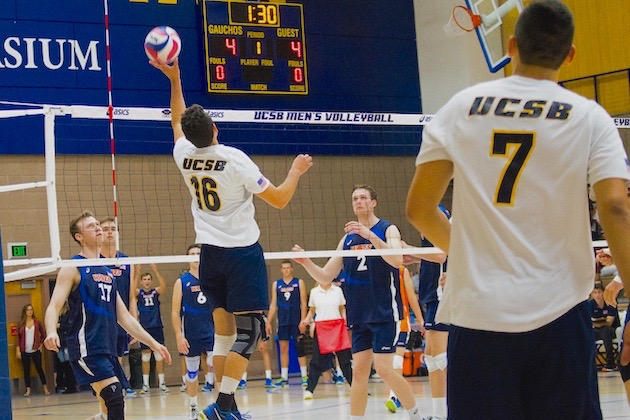 The UCSB men's volleyball team will start competition in the Big West Conference beginning in 2018.
