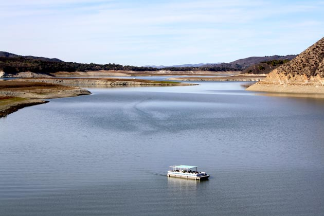 Even amid the drought conditions, Lake Cachuma continues to serve as an important recreation area for Santa Barbara County.