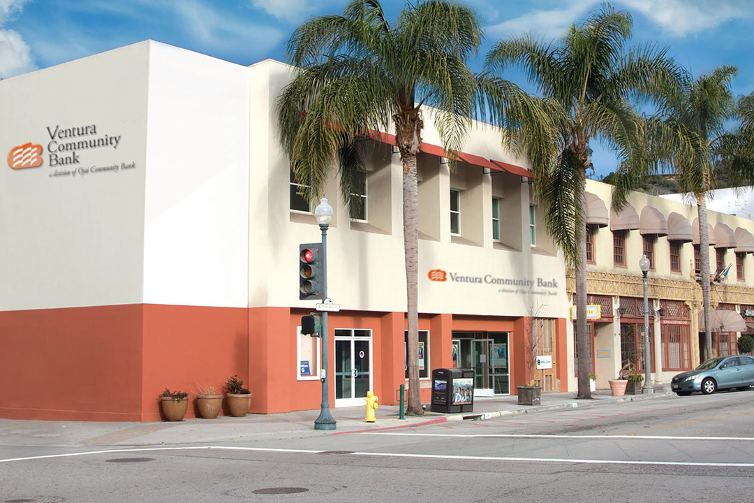 Ventura Community Bank's new location will be at the corner of California and Santa Clara Streets in Ventura.