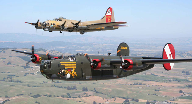 <p>Larry Crandell will be among the World War II veterans taking a ride on a B-24 and B-17 when the vintage aircraft pay a visit to the Santa Barbara Airport next week.</p>
