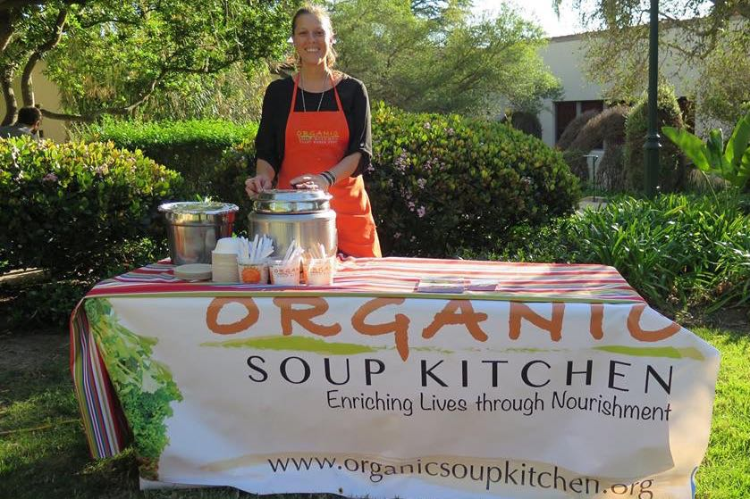 Organic Soup Kitchen Organic soup kitchen serves up healthy soups and more to cancer organic soup kitchen chief operating officer andrea slaby carroccio helps run the santa barbara workwithnaturefo