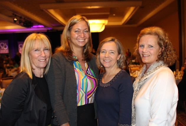 From left, Dru Hartley, Jill Fonte, Nancy Ransohoff and Debra Koopmans.
