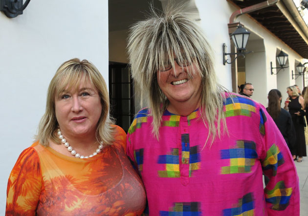 "Richard Weston-Smith and his wife, Kirsten, are dressed for the ""Rock the Bacara"" event."
