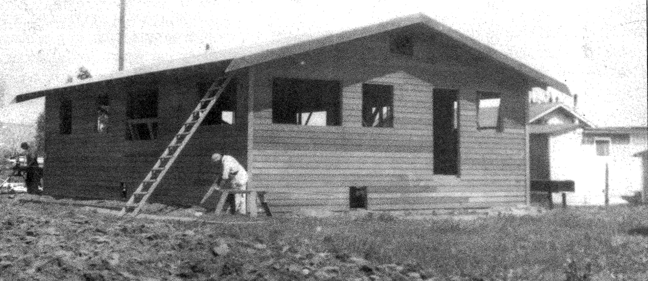 The Building Fund was established in 1922 to loan families money to build their homes. During the Depression, Associated Charities built its own homes, such as this one in 1932.
