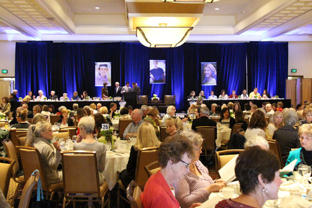 More than 500 guests came out to support CALM at the 30th annual Celebrity Authors Luncheon.