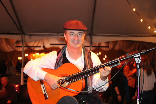Spanish and classical guitar player George Quirin.