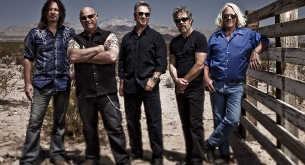 <p>Creedence Clearwater Revisited, with Creedence Clearwater Revival&#8217;s bassist, Stu Cook, center, and drummer Doug &#8220;Cosmo&#8221; Clifford, second from right, will perform at the Ventura County Fair on Friday.</p>