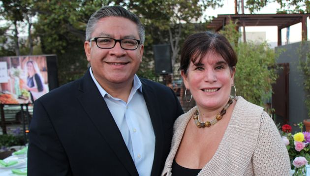 Santa Barbara County Supervisors Janet Wolf and Salud Carbajal.