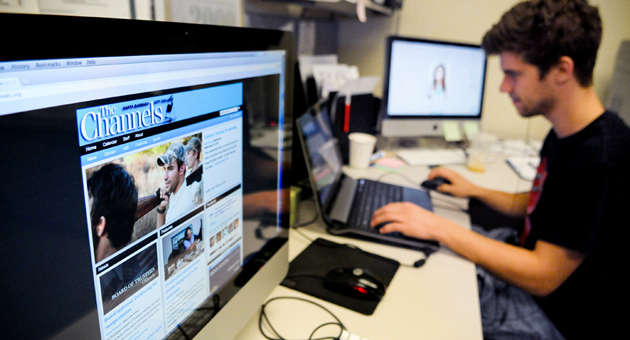 <p>The Channels, Santa Barbara City College&#8217;s student newspaper, is now entirely online, in part because of staffing cutbacks at the college.</p>