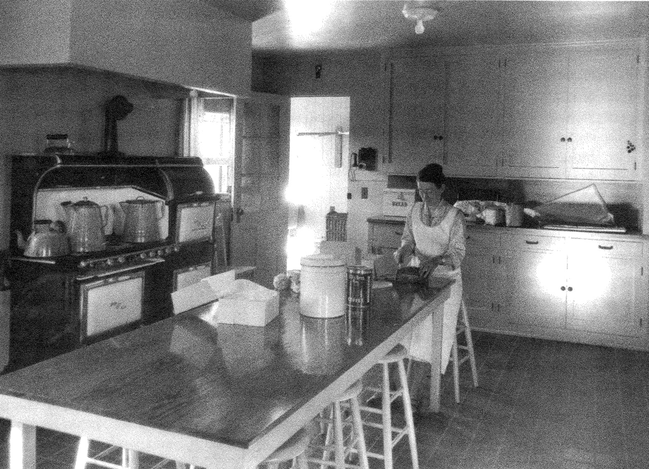 Public education played a major role in the agency's mission. The Industrial Department's cooking classes were designed to teach students to prepare nutritionally balanced meals.