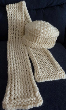 Knitted items will be among gifts available at Sunday's craft sale at Good Shepherd Lutheran Church.