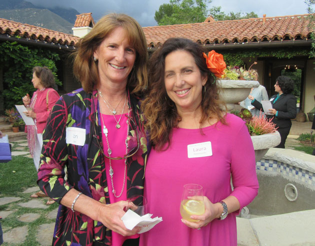 Direct Relief Women members Lauri Baur, left, and Laura Pomeratz have supported the organization for many years.