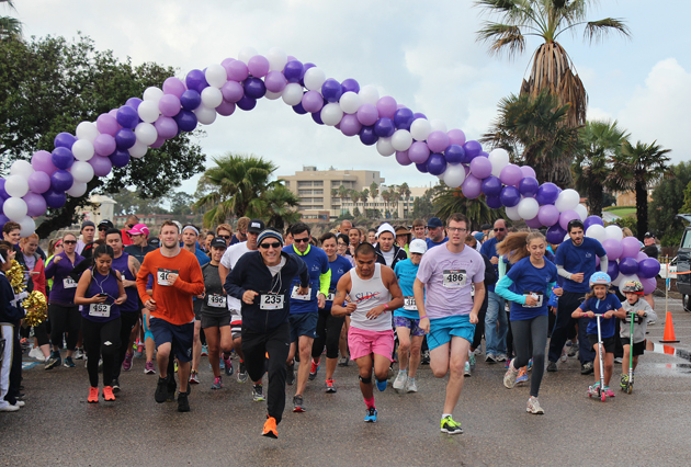 More than 200 supporters took steps to raise awareness and help end the cycle of domestic violence at the 5K Run/Walk for Love.