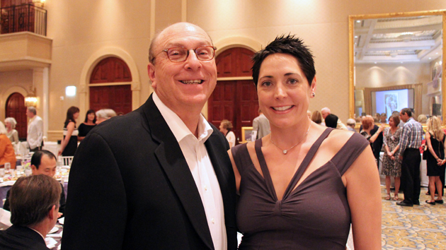 Jim Roehrig, left, and Nicole Beckering.