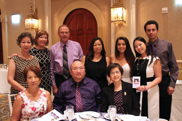 The Tang family, who lost beloved daughter and sister Alexandra Joyce Tang in 2012 in a domestic violence incident. To join the DVS Alexandra Tang Volunteer Program, call 805.564.3300.