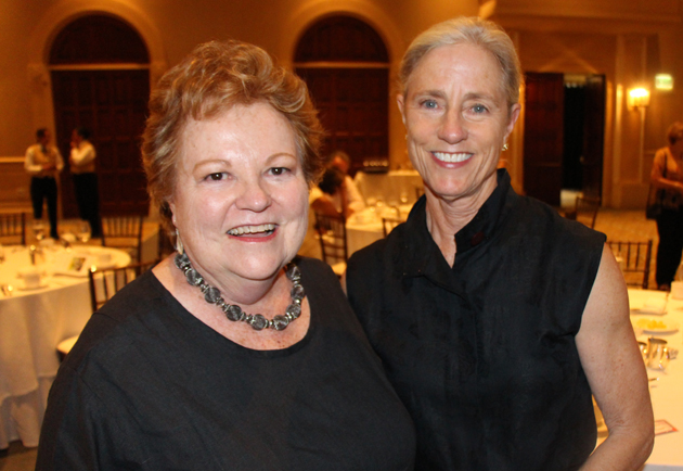 Tish Gainey, left, and Leslie Power.