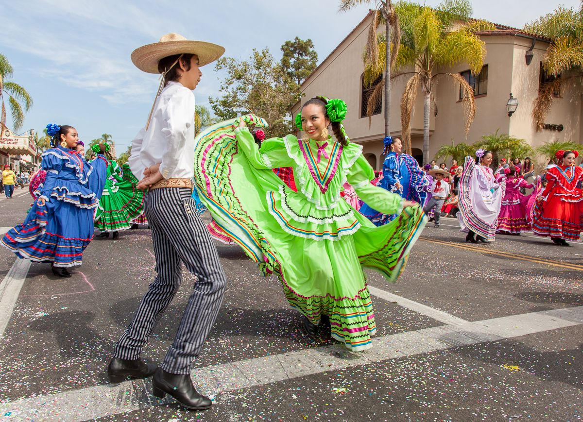 Colorful dancers twirled and tapped their way down State Street on Saturday as part of the 84th annual El Desfile De Los Niños in Santa Barbara.