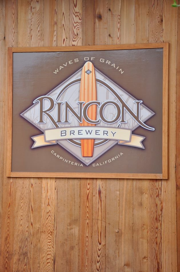 Rincon Brewery features classic pub food like tacos, burgers, and fish and chips — and beer brewed on the premises.