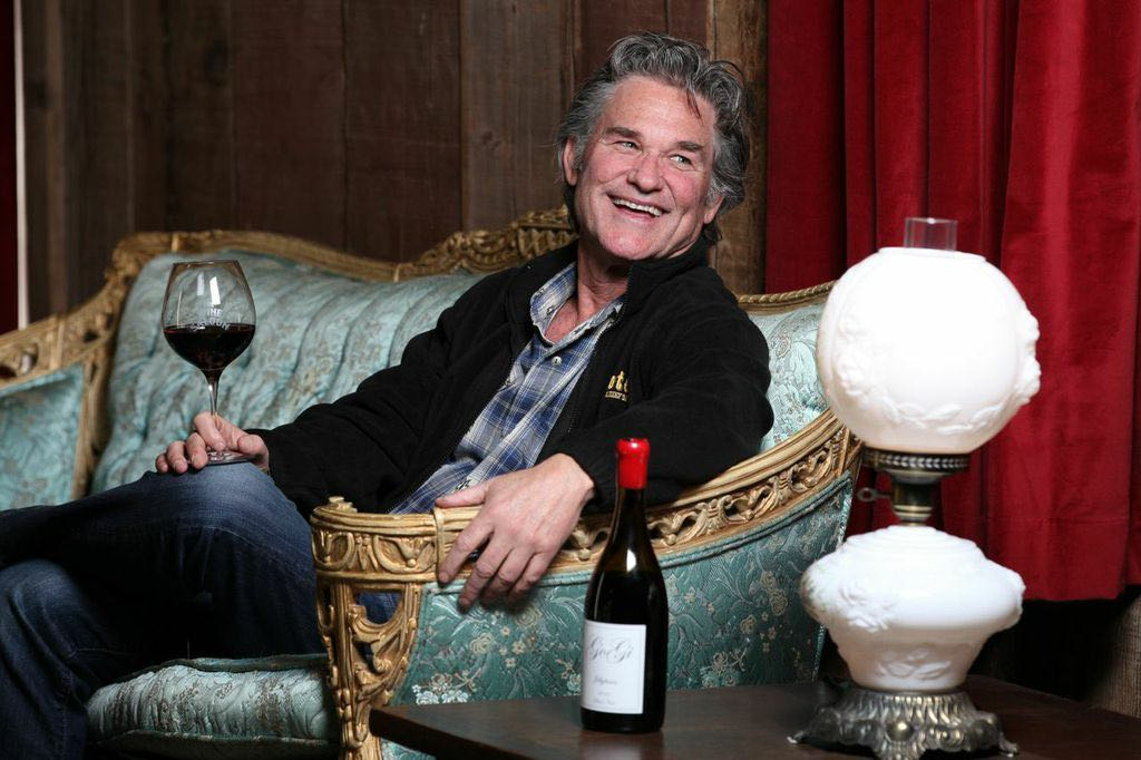 Kurt Russell will be the star of the Saturday Night Grand Dinner. You may know him as an award-winning actor, but he's passionate about his GoGi Wines — as well as stepdaughter Kate Hudson's Hudson Bellamy Wines.