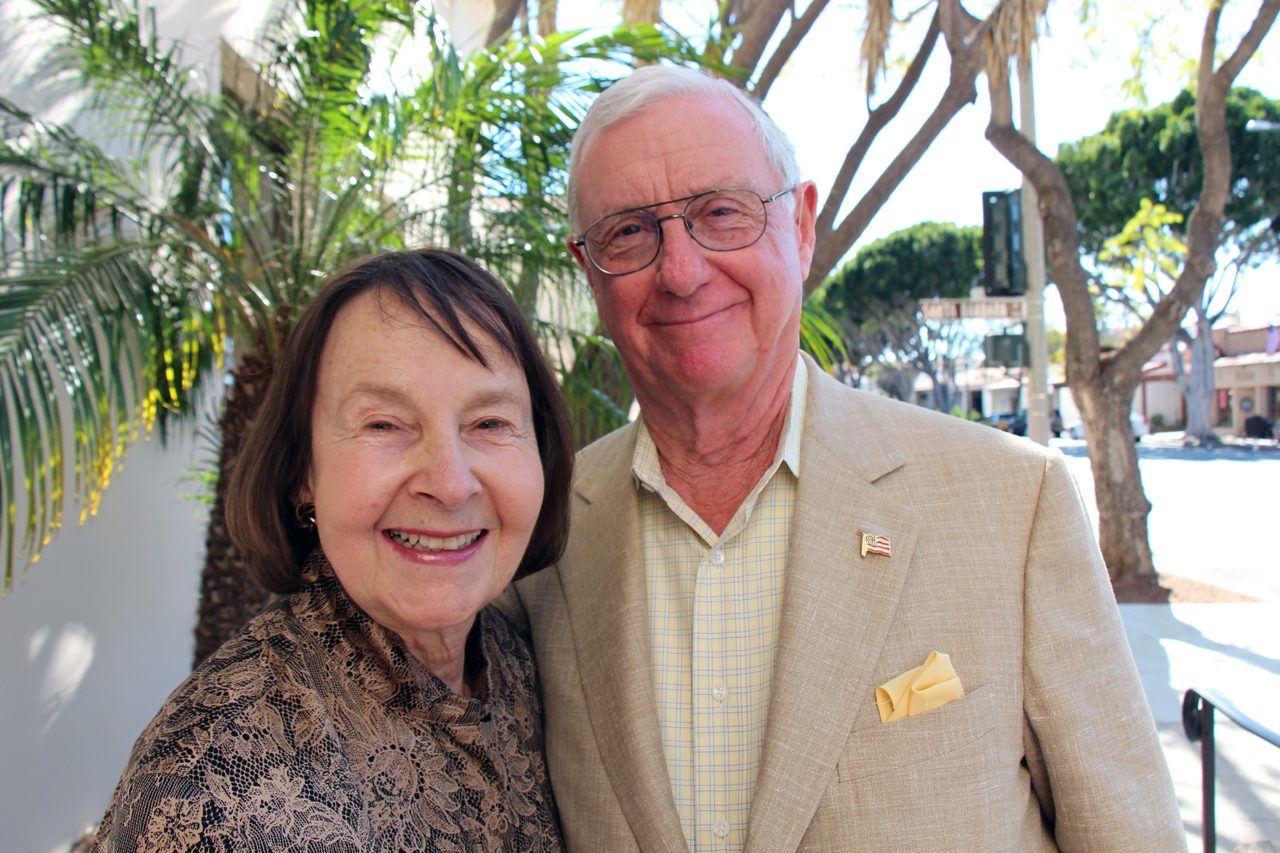 Honorary director Shirley Ann and Jim Hurley have been steadfast supporters of Family Service Agency for more than 35 years.
