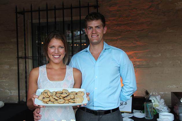 Lisa McFadden and Keane Angle served up treats from Sweet Lisi's.