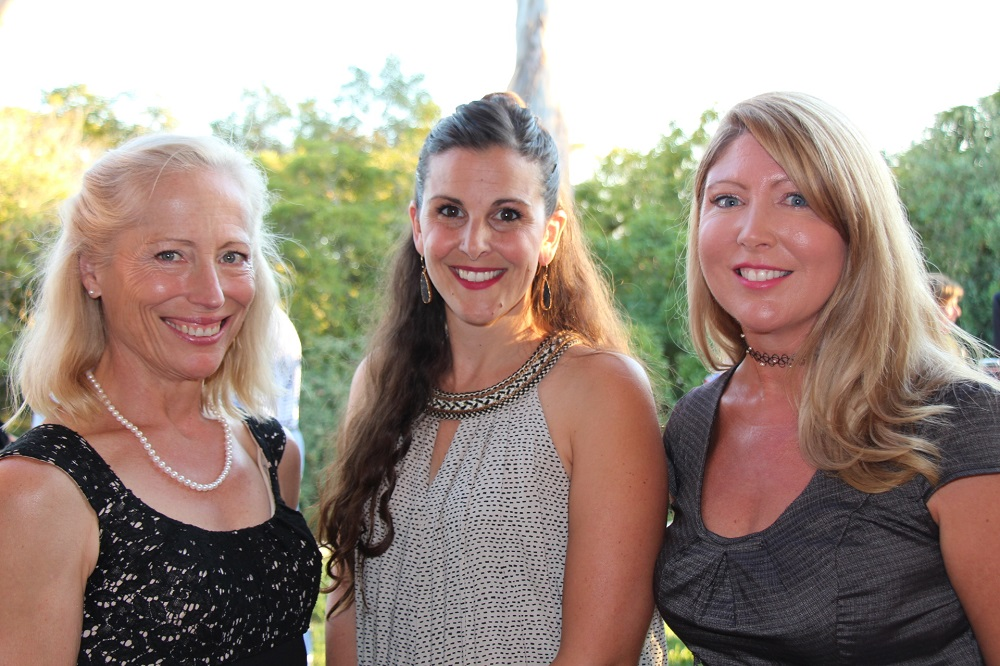 Cindy Mayer, left, Jenn Paul, MA, MFT, and Amber Stickerod, M.D.