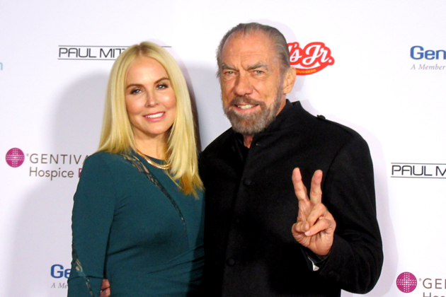 John Paul DeJoria of The Patrón Spirits Co. and John Paul Mitchell Systems attended the Dream Foundation's 4th Annual Celebration of Dreams Gala with his wife, Eloise.