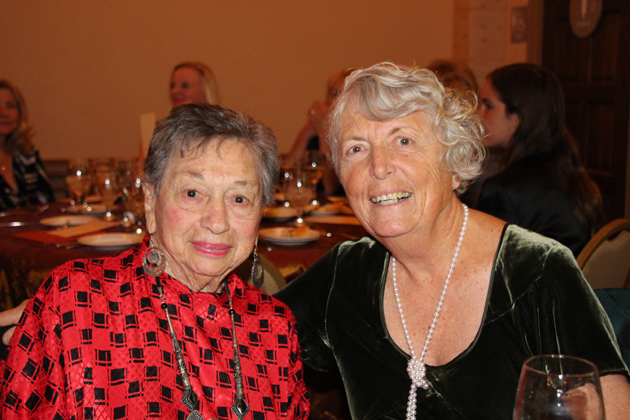 Best friends for 57 years, Bernice Amfuso, left, and Virginia Gardner.
