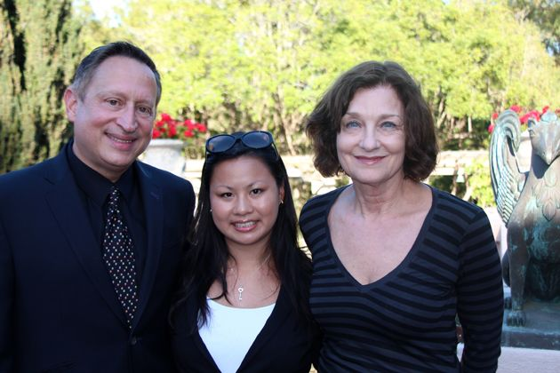 From left, Ron, Kara and Andrea Gallo.