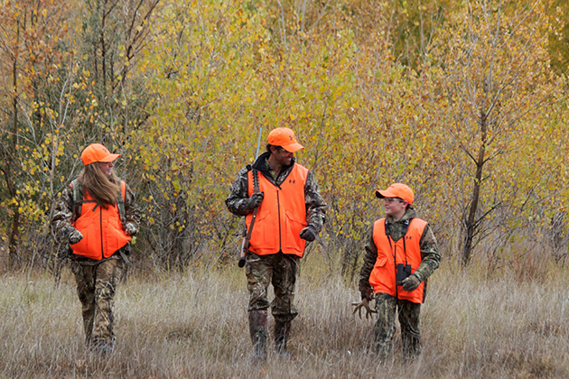You can learn to hunt at any age and the best place to start is with a hunter education course through CDFW.